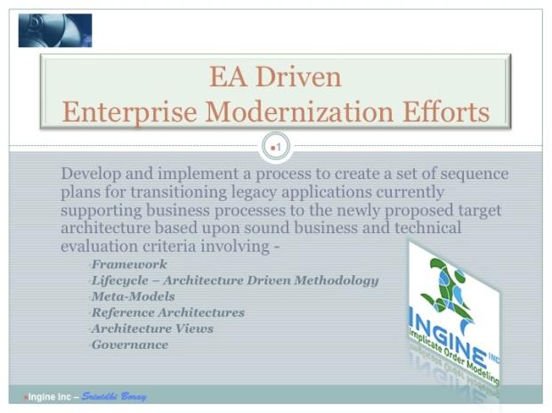 EA driven Modernization Planning